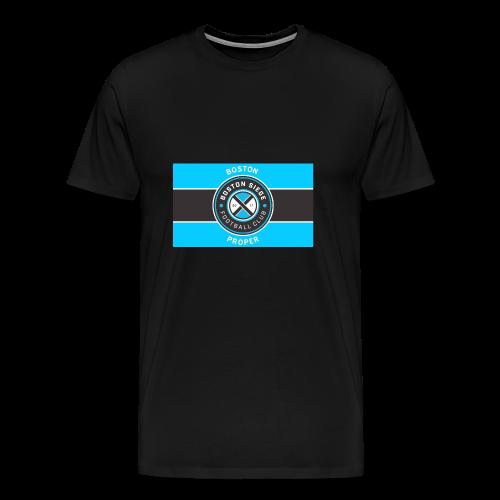 Boston Proper Flag Design - Men's Premium T-Shirt