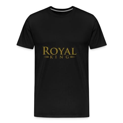 Royal King - Men's Premium T-Shirt