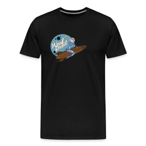 WoodRocket Rocket Girl - Men's Premium T-Shirt