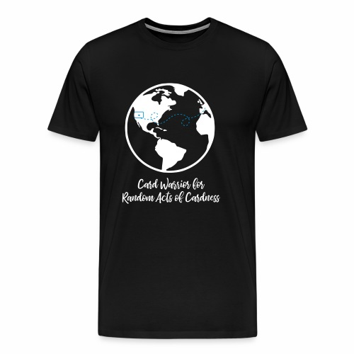 Globe - Card Warrior for Random Acts of Cardness - Men's Premium T-Shirt
