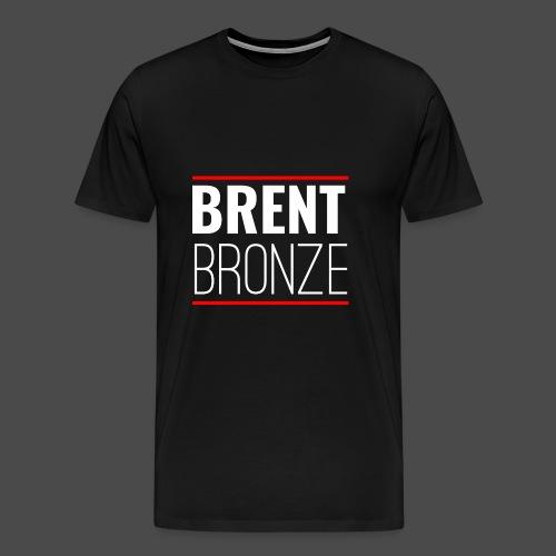 BRENT BRONZE Design - Men's Premium T-Shirt