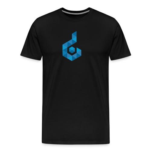 Deep Box Games Logo - Men's Premium T-Shirt