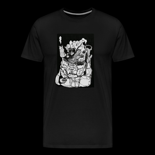 Wanted in Six Systems - Men's Premium T-Shirt