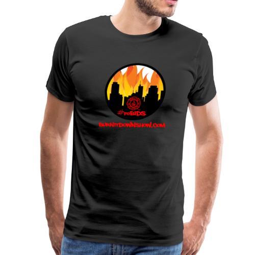 OG foBIDS red logo - Men's Premium T-Shirt