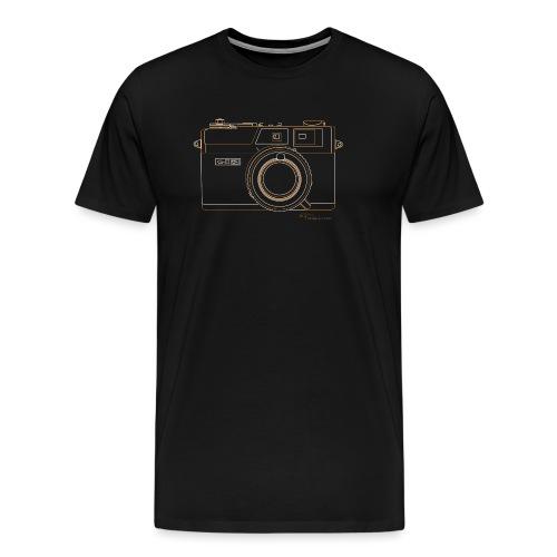 Camera Sketches - Canonet QL17 - Men's Premium T-Shirt