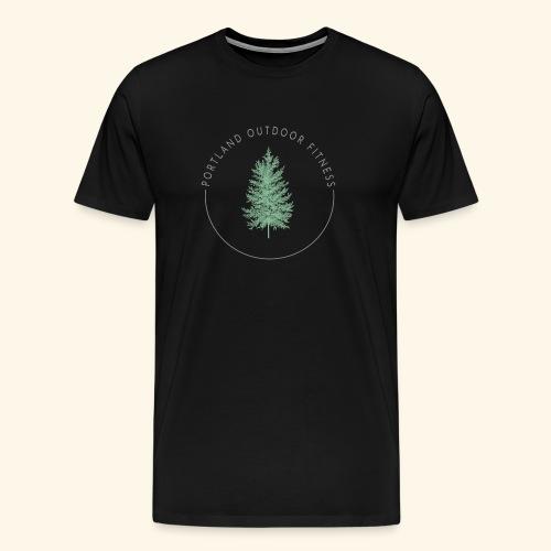 Circle Logo Bolded - Men's Premium T-Shirt