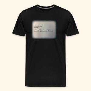 Keto - Men's Premium T-Shirt