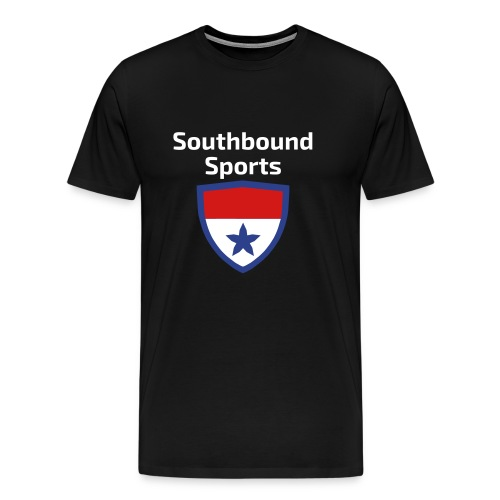 The Southbound Sports Shield Logo. - Men's Premium T-Shirt
