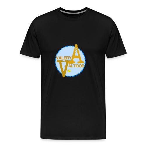 Valery logo - Men's Premium T-Shirt