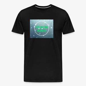 Full color logo background - Men's Premium T-Shirt