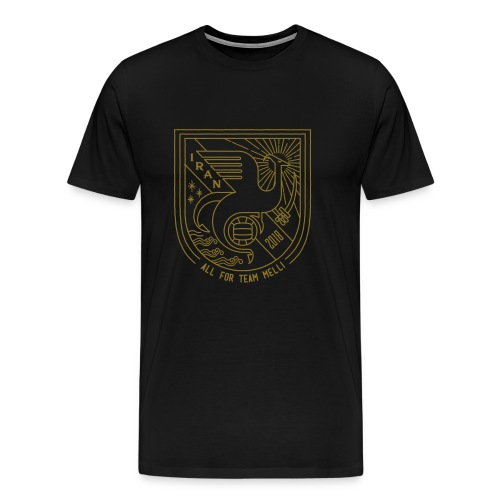 simorgh badge - Men's Premium T-Shirt