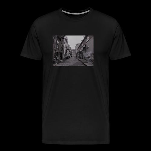 Portland Alley II design - Men's Premium T-Shirt