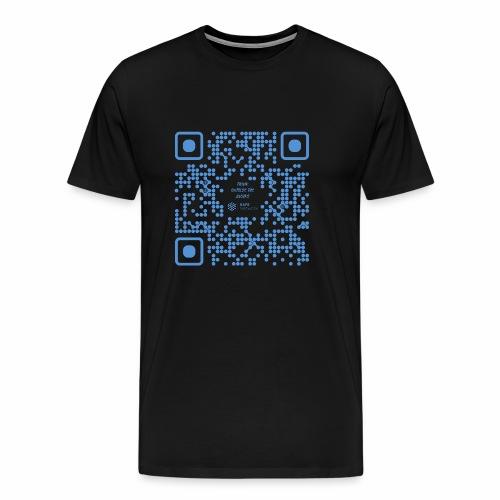 QR The New Internet Shouldnt Be Blockchain Based - Men's Premium T-Shirt