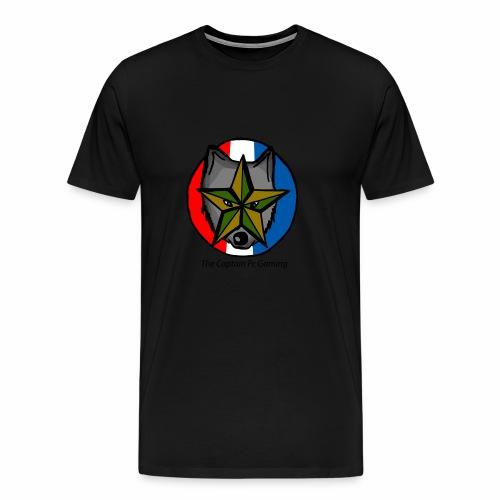 old wolf logo - Men's Premium T-Shirt
