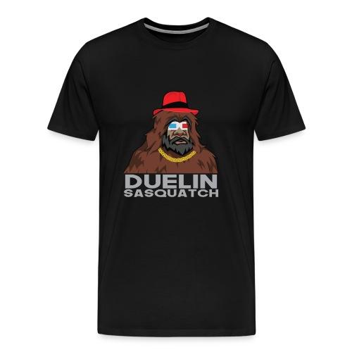 Duelin Sasquatch - Men's Premium T-Shirt