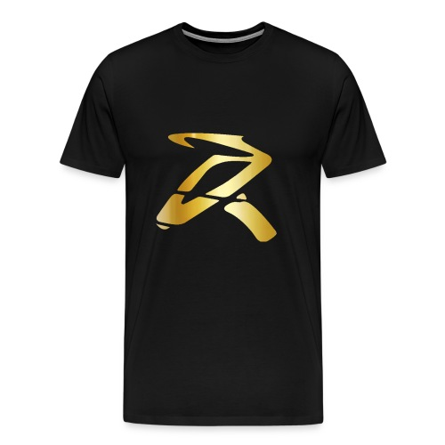 Rizz R Logo GOLD - Men's Premium T-Shirt