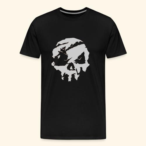 Sea of Thieves Inspired Skull - Men's Premium T-Shirt