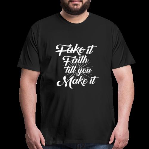 Faith Design - Men's Premium T-Shirt