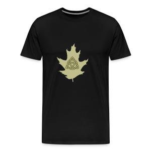 Celtic Druidry Triquetra - Men's Premium T-Shirt
