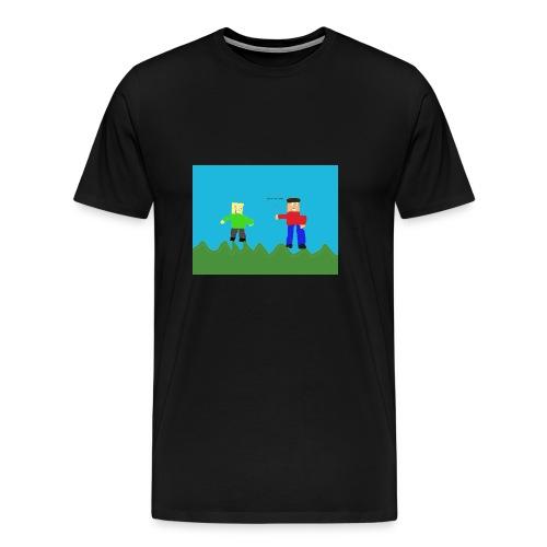 Cheesy Cheese - Men's Premium T-Shirt