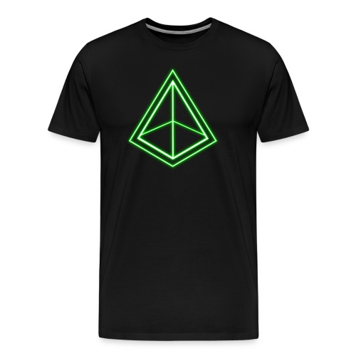 Green Pyramid - Men's Premium T-Shirt