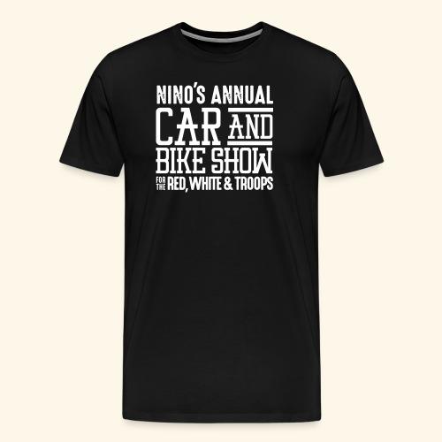 Nino's - Wordmark White - Men's Premium T-Shirt