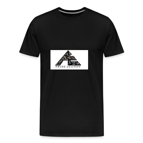 Abstract art hat logo - Men's Premium T-Shirt