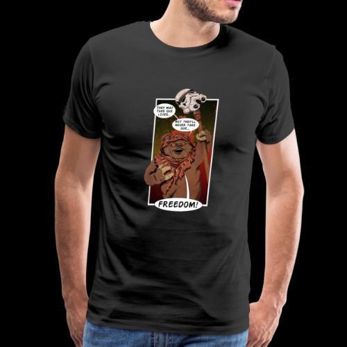 The Braveheart of Endor - Men's Premium T-Shirt