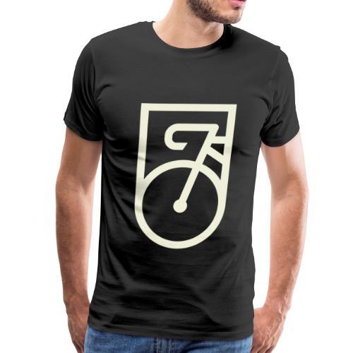 Minimal Cycle Logo - Men's Premium T-Shirt