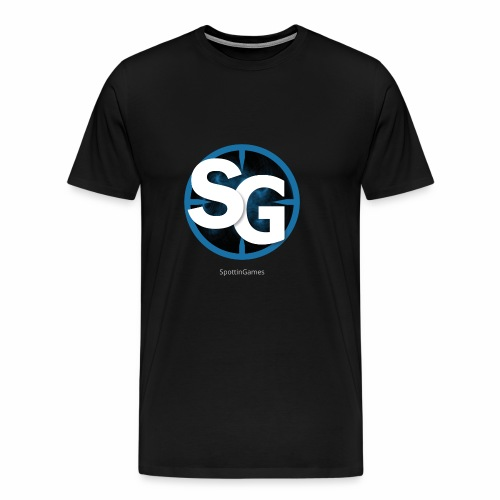 SpottinGames logo - Men's Premium T-Shirt