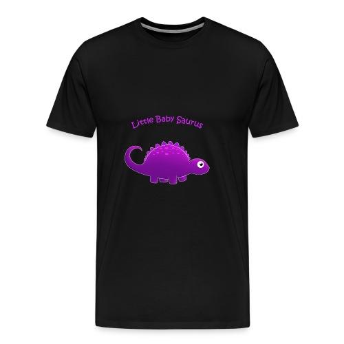 Putple Little Baby Saurus - Men's Premium T-Shirt
