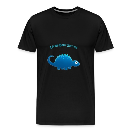 blue Little Baby Saurus - Men's Premium T-Shirt