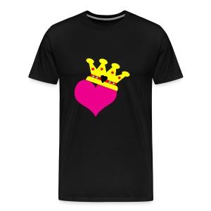 Lil Diamond's Fit for a Queen merch - Men's Premium T-Shirt