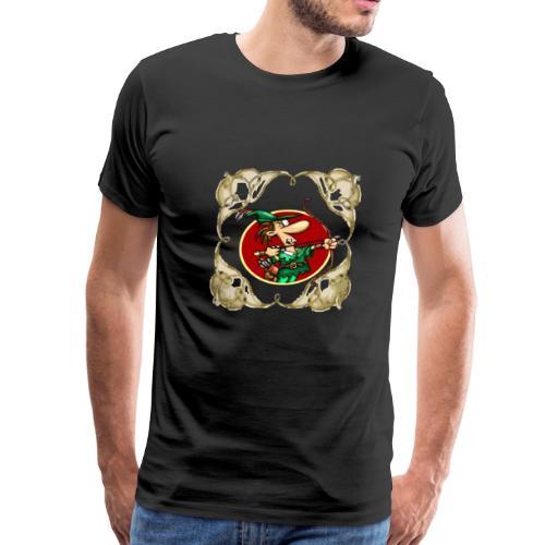 Robin The Sherwood The Mirror Robin The Sherwood - Men's Premium T-Shirt