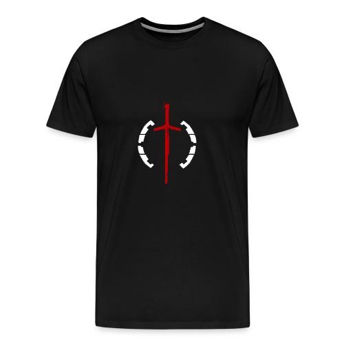 Faction Sword Logo V1 - Men's Premium T-Shirt