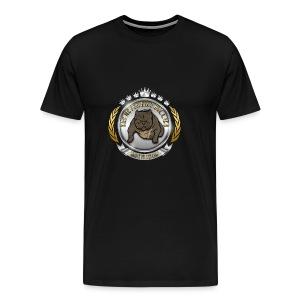 Logo Exotic Bully Design - Men's Premium T-Shirt