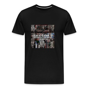 Riot-Robot, programmed to channel your rage. - Men's Premium T-Shirt