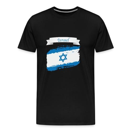 Isreal flag - Men's Premium T-Shirt