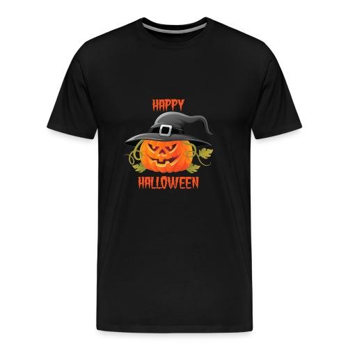 Pumpkin Happy Halloween - Men's Premium T-Shirt