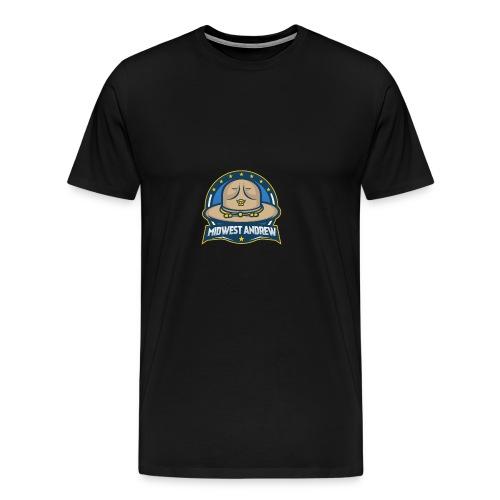Midwest Andrew Logo - Men's Premium T-Shirt