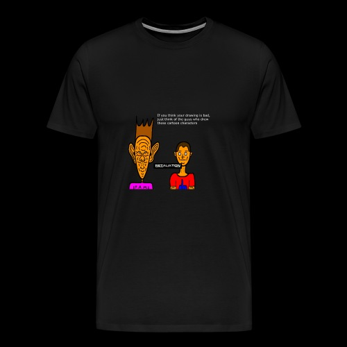 Gilburt And Rodger 1 - Men's Premium T-Shirt