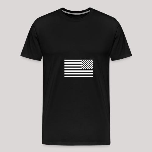 Flag white - Men's Premium T-Shirt