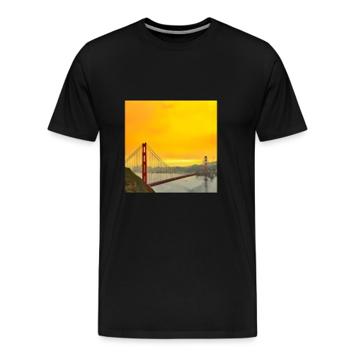 Golden Gate - Men's Premium T-Shirt