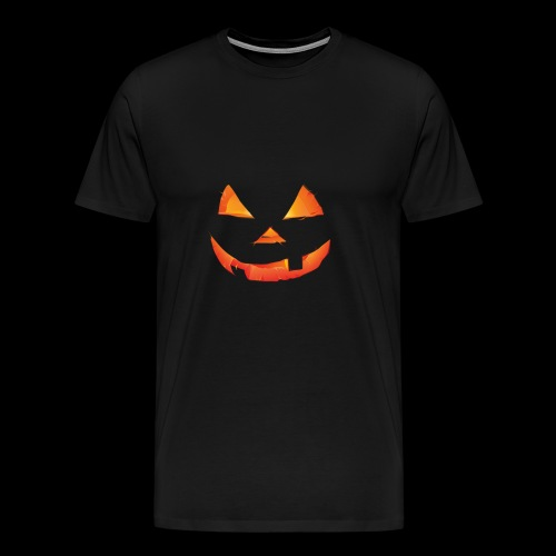 The Scary Pumpkin Halloween T shirt - Men's Premium T-Shirt