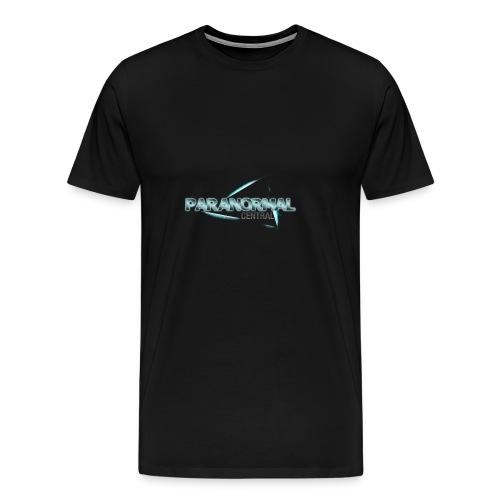 Paranormal Central Transparent Light - Men's Premium T-Shirt