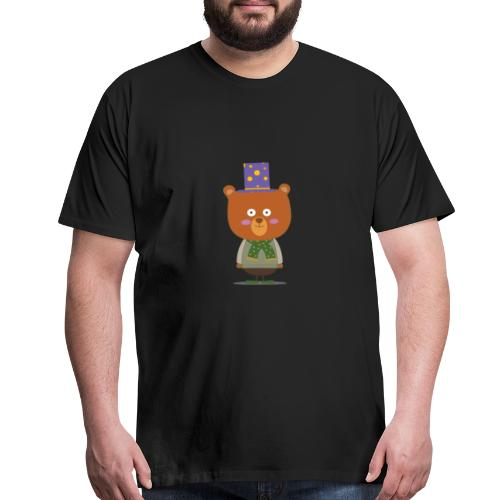 Magician bear - Men's Premium T-Shirt