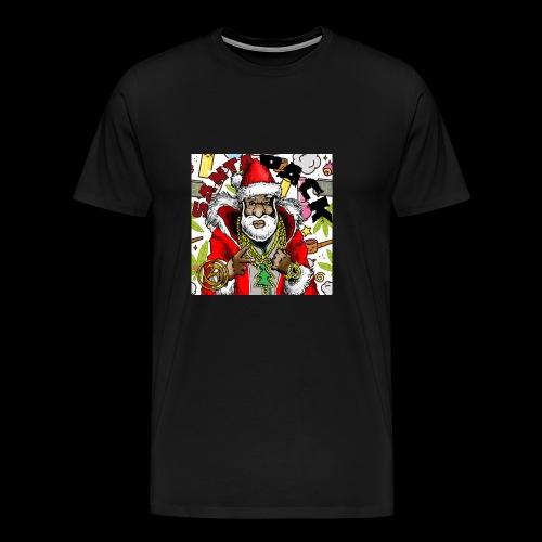 Santa Pack (Christmas Hip-Hop Gear) - Men's Premium T-Shirt
