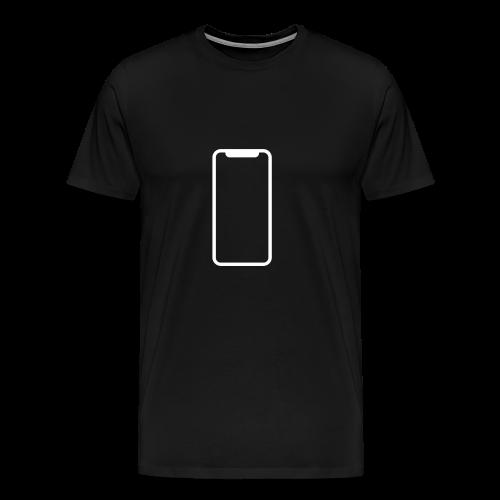 iPhone X - Men's Premium T-Shirt