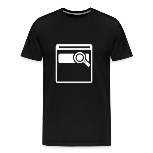 Web Searching - Men's Premium T-Shirt