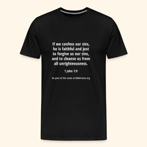 sample bible verse - Men's Premium T-Shirt